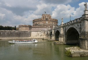Tevere a Castel Sant'Angelo