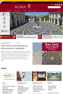 nuova home page
